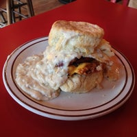 Photo taken at Denver Biscuit Company by Bryan J. on 10/26/2012