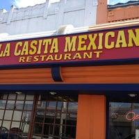 Photo taken at La Casita Mexicana by Karim M. on 6/9/2013