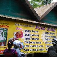 Photo taken at Ayam Penyet Pak Kul by Nana D. on 1/3/2015