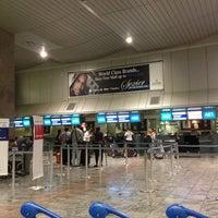 Photo taken at International Departures by Chris B. on 12/10/2012