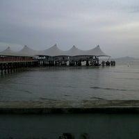Photo taken at Jeti Kuala Perlis by Daus on 6/14/2013