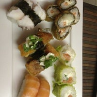 Photo taken at Sushi Canting by André A. on 1/16/2013