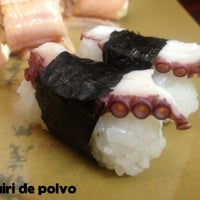 Photo taken at Sushi Canting by André A. on 10/10/2012
