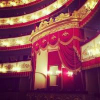 Снимок сделан в Александринский театр пользователем Anechka S. 4/24/2013
