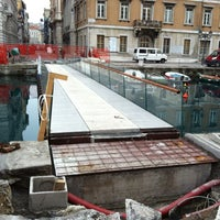 "Photo taken at Passaggio Joyce ""Ponte curto"" by GMDB G. on 1/30/2013"