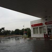 9/13/2014 tarihinde Антон Д.ziyaretçi tarafından Лукойл АЗС №68'de çekilen fotoğraf