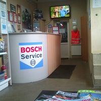 Photo taken at Bosch Service by Рома К. on 2/17/2013