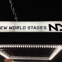 Photo taken at New World Stages by Terence T. on 9/28/2012