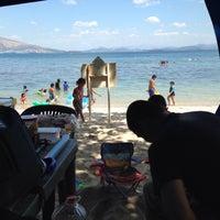 Photo taken at Beach View, Camayan Beach Resort by christopher on 4/2/2015