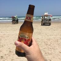 "Photo taken at ""Playa miramar"" by Ignacio S. on 5/14/2016"