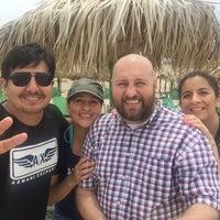 Photo taken at Playa miramar by Ignacio S. on 7/3/2015