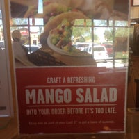 Photo taken at Qdoba Mexican Grill by Robby W. on 8/13/2013