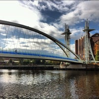 Photo taken at Salford Quays by Simon P. on 9/19/2012