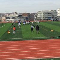 Photo taken at YTÜ Amerikan Futbolu Sahası by Alpi on 2/19/2017