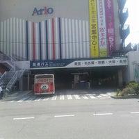 Photo taken at Matsumoto Bus Terminal by Kazumi M. on 7/30/2014