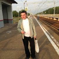 Photo taken at платформа Омутище by Nikolay I. on 8/4/2013