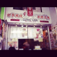 Photo taken at Gong Cha 貢茶 by Terence S. on 9/16/2012