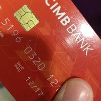 Photo taken at CIMB Bank by Lysa on 7/4/2016