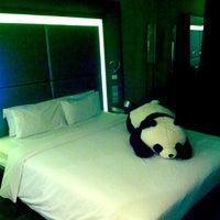 Photo taken at Novotel Beijing Sanyuan Hotel by Slava Z. on 11/8/2012