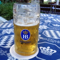 Photo taken at Hofbräu München Beer Hall by Dmitry Z. on 6/18/2013