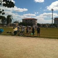 Photo taken at Centro Esportivo Jardim Simus by Patricia B. on 4/21/2013