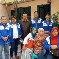 Photo taken at SMP Negeri 7 Medan by Dwita C. on 12/23/2015
