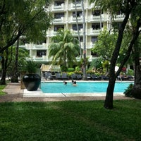 Photo taken at Costabella Tropical Beach Hotel by Maeryl D. on 2/24/2013