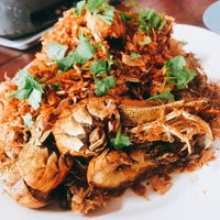 Photo taken at เจ๊อึ่งซีฟู๊ด (ป่าคั่น) Jae Aung Seafood by Beau P. on 1/23/2017