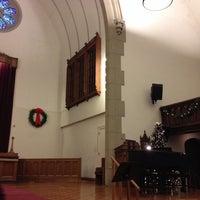 Photo taken at State Street Church by David G. on 12/14/2013