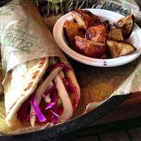 Photo taken at Taziki's Cafe of Charleston by James H. on 5/23/2013