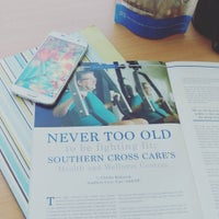 Photo taken at Southern Cross Care (SA & NT) Inc. by charlie-helen r. on 1/11/2017