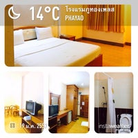 Photo taken at Phuthong Place Hotel by Puncharus P. on 1/19/2014