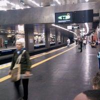 Photo taken at MetrôRio - Estação Uruguaiana by Alexandre S. on 4/3/2013