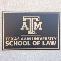 Photo taken at Texas A&M University School of Law by Jason K. on 1/15/2016