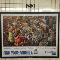Photo taken at MTA Subway - 23rd St (F/M) by Pablo C. on 6/26/2016