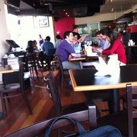 Photo taken at Cafe Melba by Javier D. on 4/25/2013