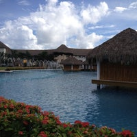 Photo taken at Hard Rock Hotel & Casino Punta Cana by Tasha V. on 12/2/2012