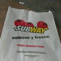 Photo taken at Subway by Jhojans T. on 10/13/2012