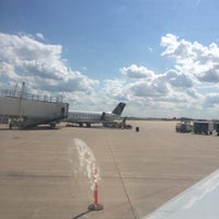 Photo taken at The Eastern Iowa Airport (CID) by Jared on 7/8/2014