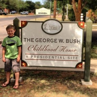 Photo taken at Geoge W Bush Childhood Home by Tony C. on 6/30/2013
