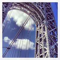 Photo taken at George Washington Bridge by Chase W. on 4/3/2013