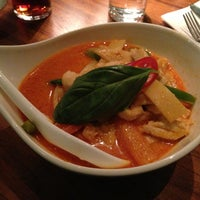 Photo taken at Orkide Thai Restaurang by Kristina v. on 1/5/2014