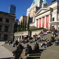 Photo taken at Vancouver Art Gallery by Tatiana G. on 3/3/2013