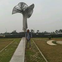 Photo taken at Stadion jakabaring palembang by Angga R. on 10/4/2012