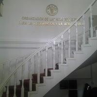 Photo taken at FAO Bolivia - Organizacion de las Naciones Unidas para la Alimentacion y la Agricultura by Raúl P. on 1/27/2014