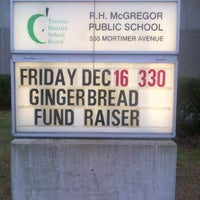 Photo taken at R.H. McGregor Elementary School by Patrick B. on 12/16/2011