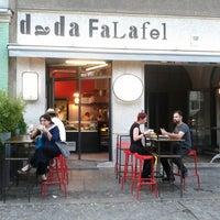 Photo taken at Dada Falafel by Macy P. on 7/7/2013