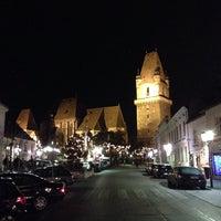 Photo taken at Perchtoldsdorf Marktgemeinde by Niki P. on 12/8/2013