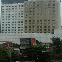 Photo taken at Gumaya Tower Hotel by Qusmaini Noor R. on 10/21/2016