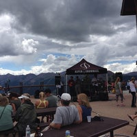 Photo taken at The Sundeck at Aspen Mountain by Michael F. on 9/1/2013